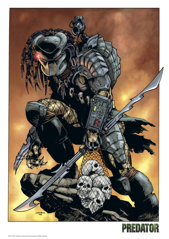 Predator: Premium Art Print - Comic Design