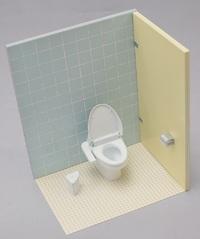 1/12 Western Style Toilet - Model Kit