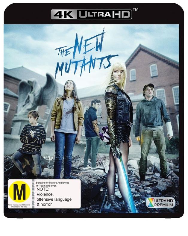 The New Mutants (4K UHD) on UHD Blu-ray