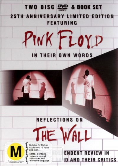 Pink Floyd's - Reflections On The Wall (2 Disc) Book Set on DVD image