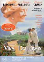 Mrs Dalloway on DVD