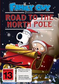 Family Guy: Road to the North Pole on DVD