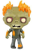 The Walking Dead - Burning Walker Pop! Vinyl Figure
