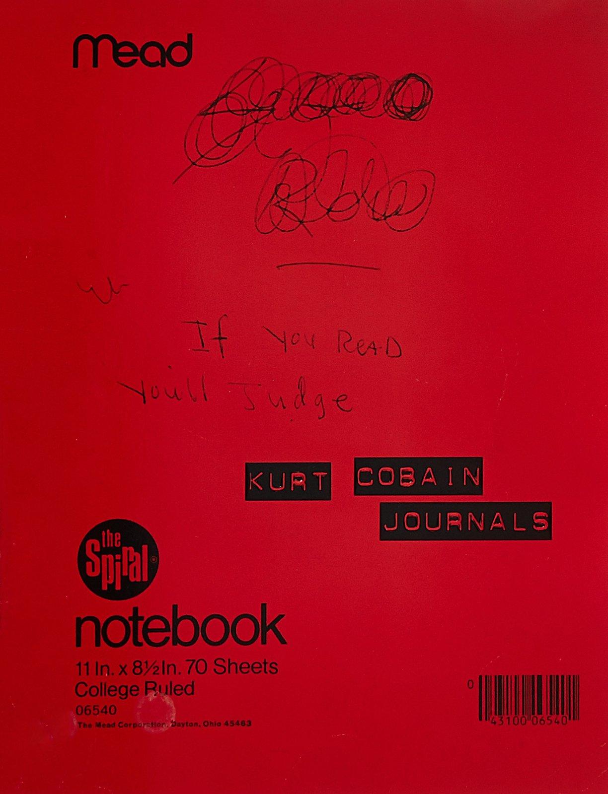 Journals by Kurt Cobain image