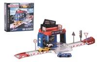 Majorette: Vision Gran Turismo Pit Stop & Car Playset