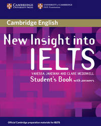 New Insight into IELTS Student's Book with Answers by Vanessa Jakeman image
