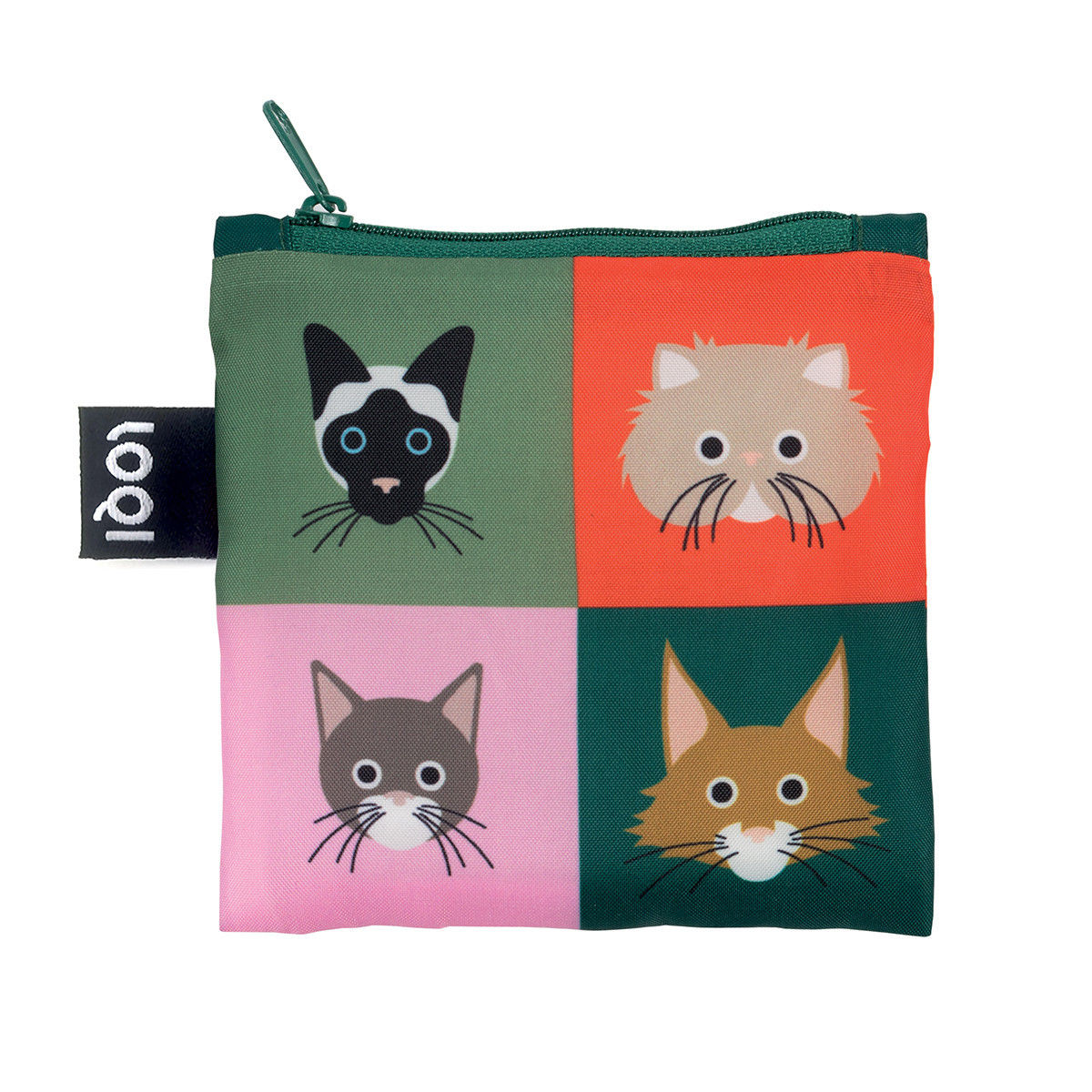 Loqi: Shopping Bag Cats & Dogs Collection - Cats image