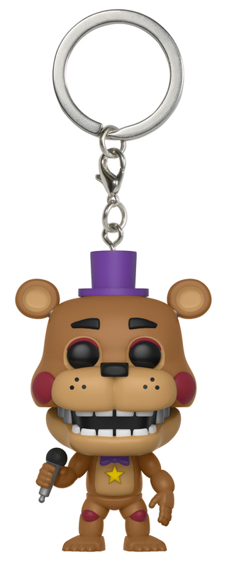 Five Nights at Freddy's: Pizza Simulator - Rockstar Freddy Pocket Pop! Keychain