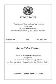 Treaty Series 2831 (English/French Edition)