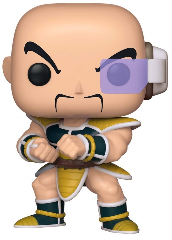 Dragon Ball Z – Nappa Pop! Vinyl Figure