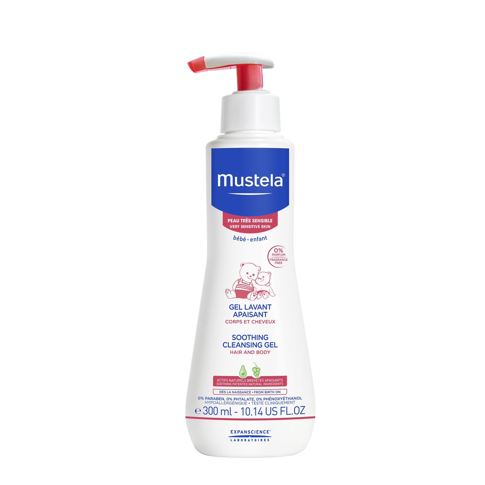 Mustela: Soothing Cleansing Gel - 300ml image