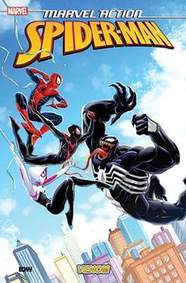 Marvel Action Spider-Man Venom (Book Four) by Delilah S Dawson