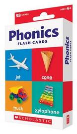 Flash Cards: Phonics by Scholastic Teaching Resources
