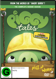 Angry Birds: Piggy Tales - Season 2 on DVD