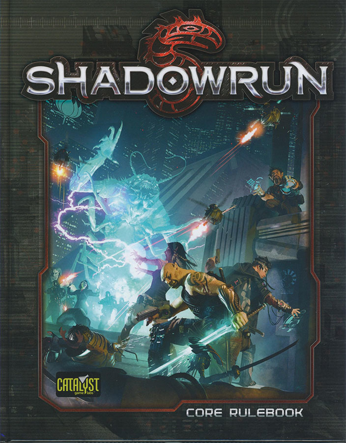 Shadowrun RPG: 5th Edition Core Rulebook Hardcover image