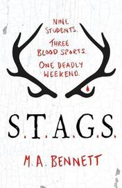 STAGS by M.A. Bennett