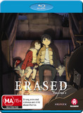 Erased - Vol 2 (Eps 7-12) on Blu-ray