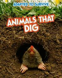 Adapted to Survive: Animals that Dig by Angela Royston image