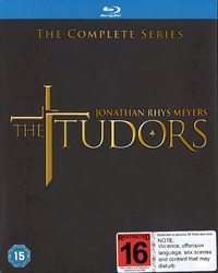 The Tudors: Seasons 1-4 on Blu-ray