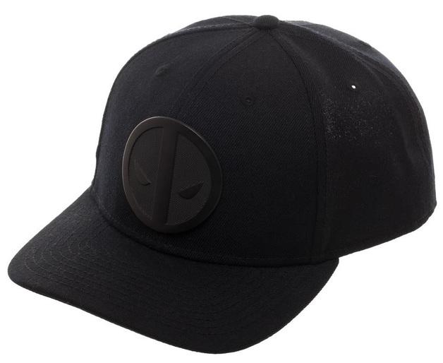 half off c2931 215b5 Deadpool  Metal Badge - Curved Snapback Cap. Marvel