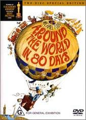 Around the World in 80 days (2 Disc Set) on DVD