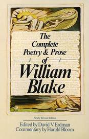 Compl Poetry Blake Rev Ed by William Blake image