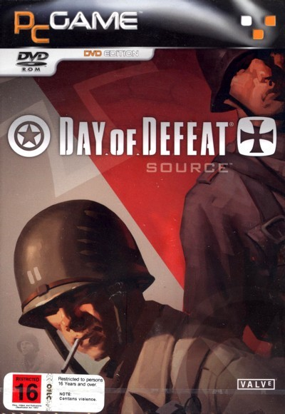 Half-Life 2 Day of Defeat Source (DVD) for PC Games