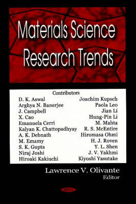Materials Science Research Trends