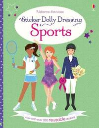 Sticker Dolly Dressing Sports by Fiona Watt