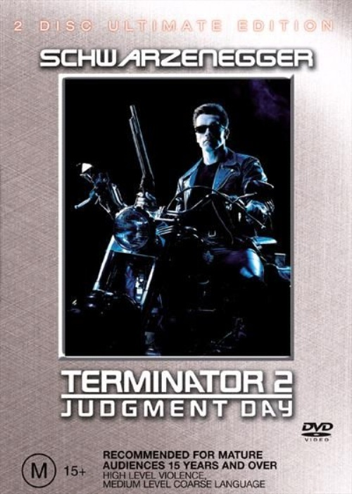 Terminator 2 - Judgement Day (Single Disc) on DVD image