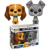 Lady and the Tramp - Pop! Vinyl 2-Pack