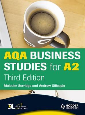 AQA Business Studies for A2 by Malcolm Surridge image