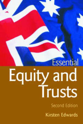 Essential Equity and Trusts by Kirsten Edwards image
