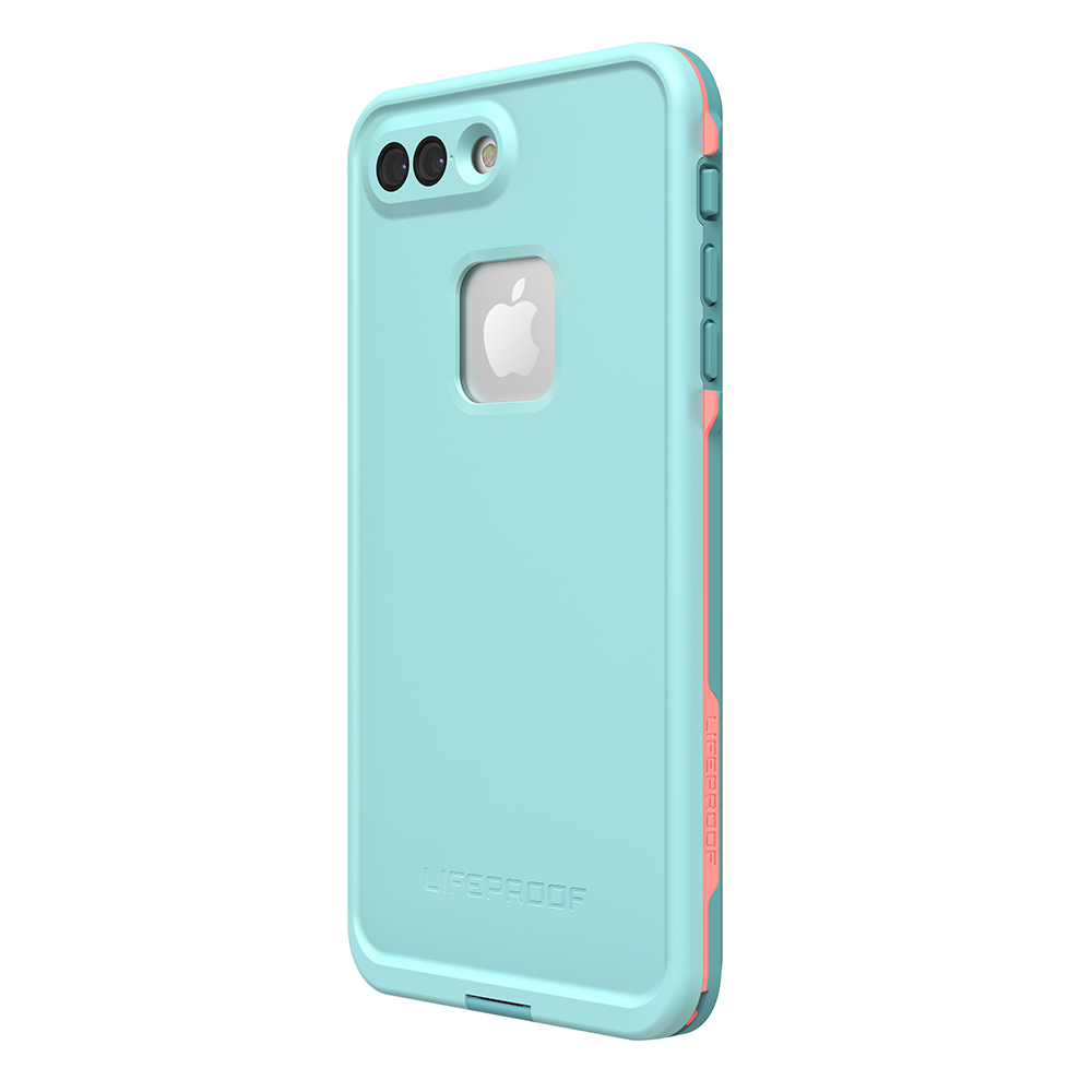 wholesale dealer 45c8d a6b60 LifeProof Fre Case for iPhone 7 plus / 8 Plus - Blue Coral