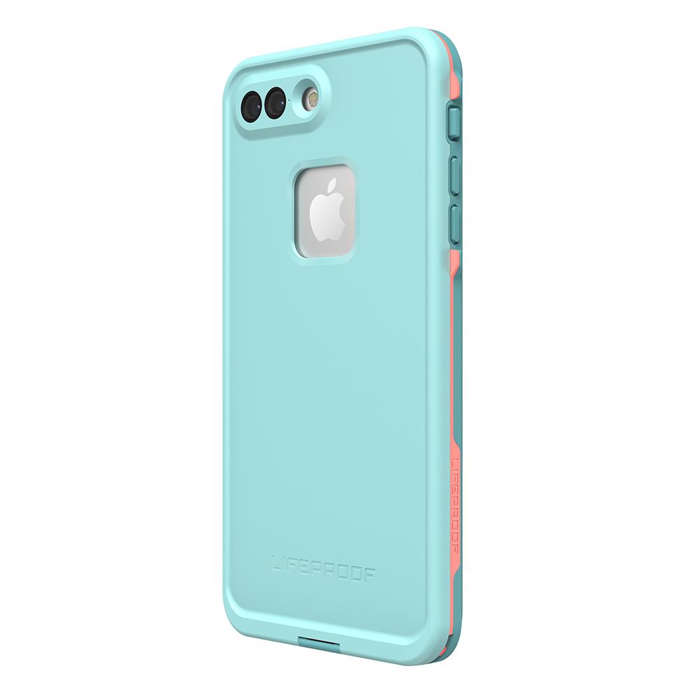 wholesale dealer 3fd51 1ce08 LifeProof Fre Case for iPhone 7 plus / 8 Plus - Blue Coral
