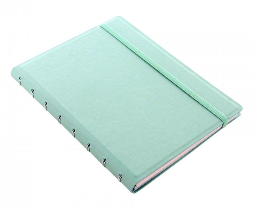 Filofax - A5 Classic Pastels Notebook - Duck Egg image