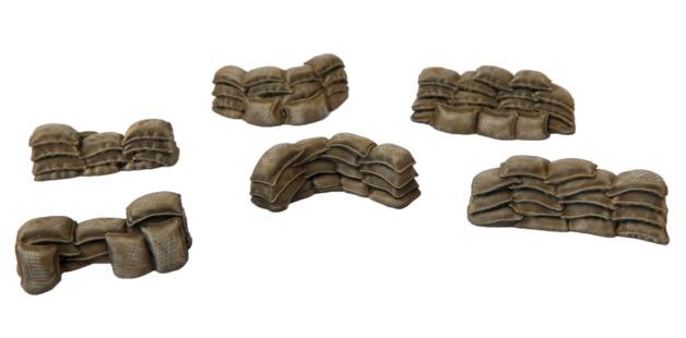 TTCombat: Tabletop Scenics - Sandbags