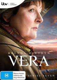 Vera: Series 7 (2 Disc Set) on DVD