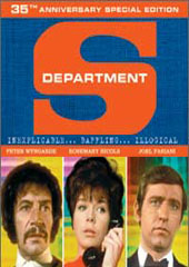 Department S - 35th Anniversary Special Edition (7 Disc Box Set) on DVD