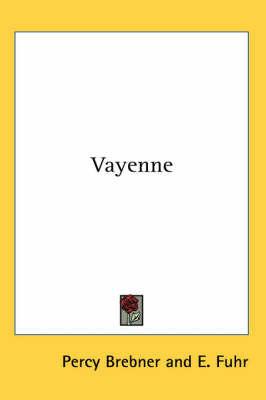 Vayenne by Percy Brebner image