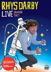 Rhys Darby Live..Imagine That! on DVD