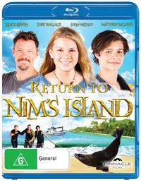 Return To Nim's Island on Blu-ray