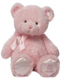 Gund: My First Teddy - Pink image