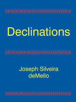 Declinations by Joseph Silveira deMello image