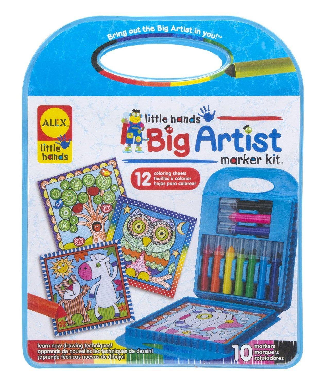 Alex: Little Hands - Big Artist Series Marker Kit image