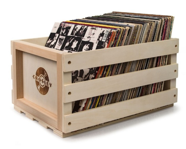 Crosley: Record Storage Crate