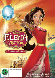 Elena Of Avalor: Ready To Rule on DVD