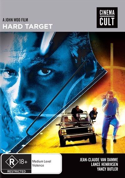 Hard Target on DVD image