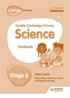 Hodder Cambridge Primary Science Workbook 6 by Peter Riley image
