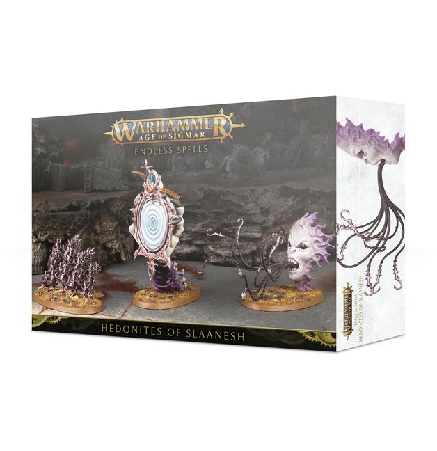 Warhammer Age of Sigmar: Hedonites of Slaanesh - Endless Spells